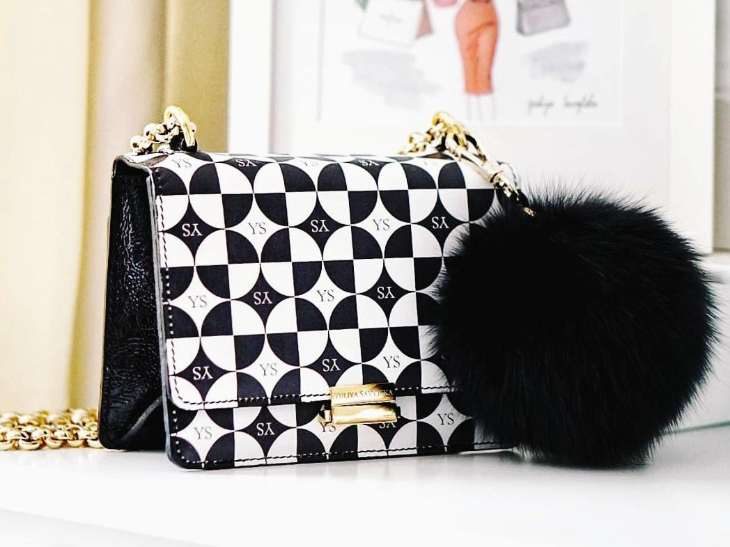 Yuliya Savytska YS Leather Bag Model Audrey - Limited Edition