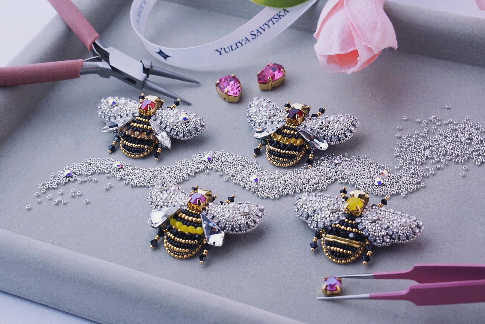 Paradise Bees Jewellery Collection by Yuliya Savytska YS