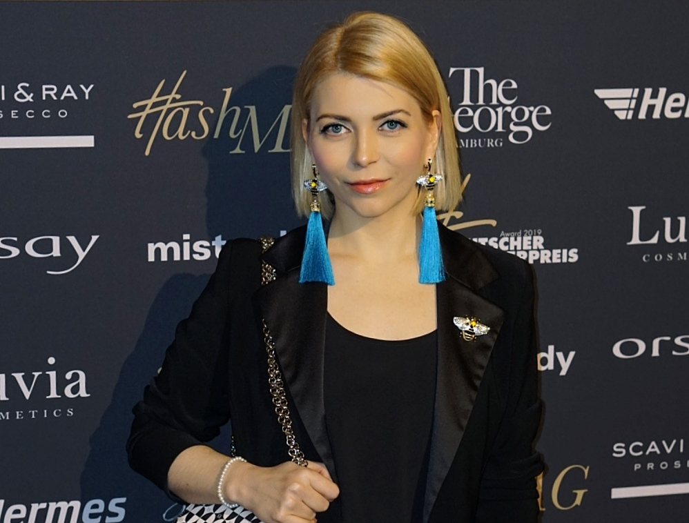 Yuliya Savytska at the German Blogger Award 2019